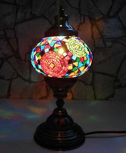 ORIENTALISCHE Stehlampe - Tischlampe MOSAIKLAMPE 100% Handgearbeitet