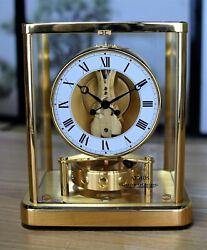Jaeger LeCoultre Atmos Mantel Clock 540 Roman Bregeut Hands