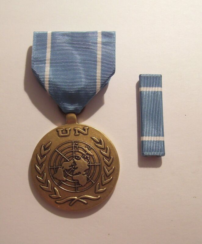 United Nations Service (Observer) Medal and Ribbon