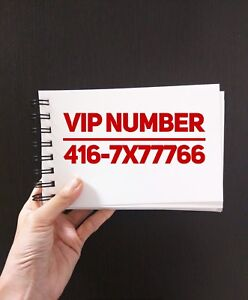 416 VIP Numbers 416-333-500x 416-9999x66 416.5000xyz