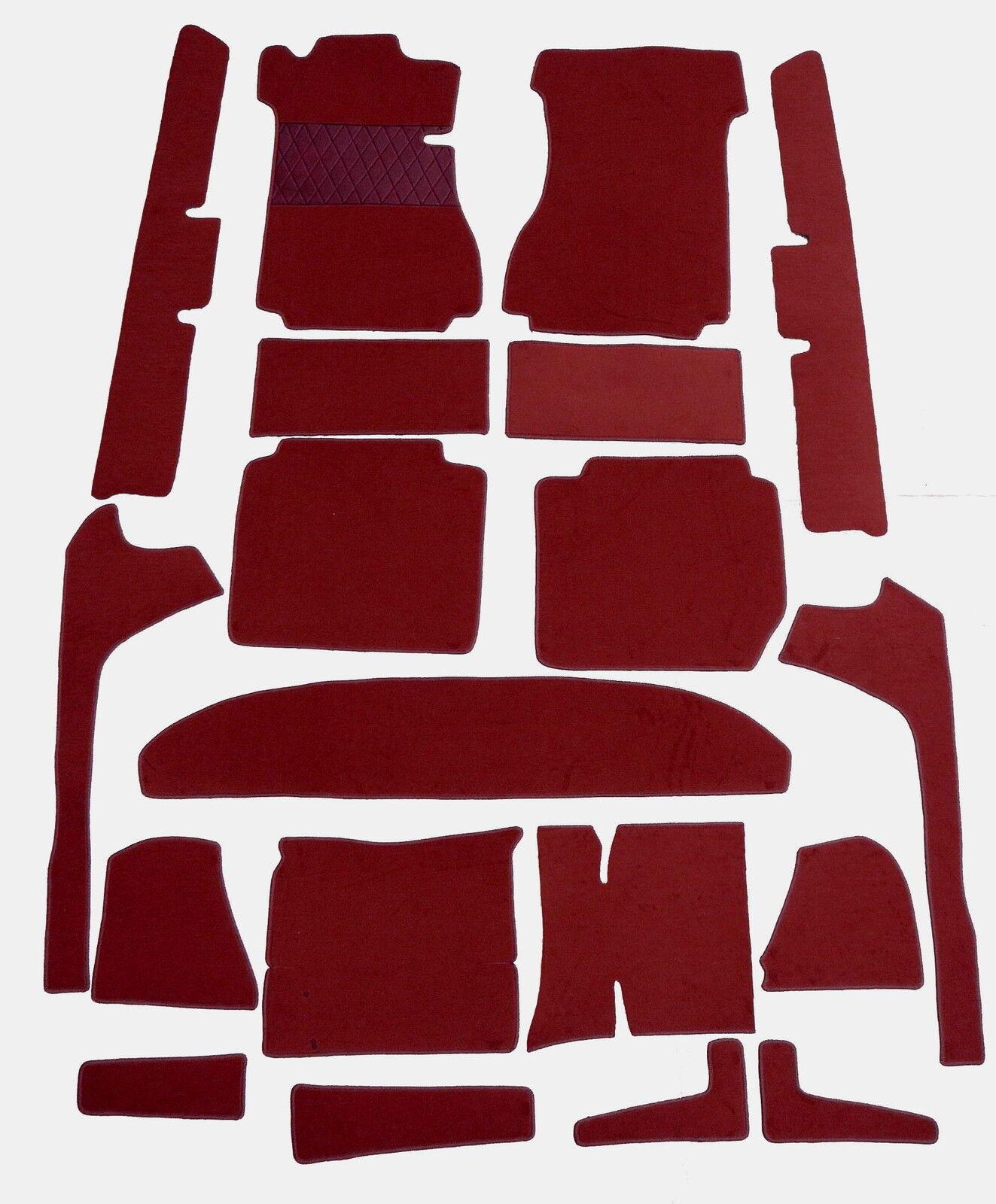 Kompl Teppich satz für Mercedes W115 8 Limousin