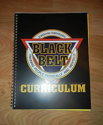 NEW Black Belt-Curriculum Manual - ATA-Taekwondo-Karate-Martial-Arts-Gift