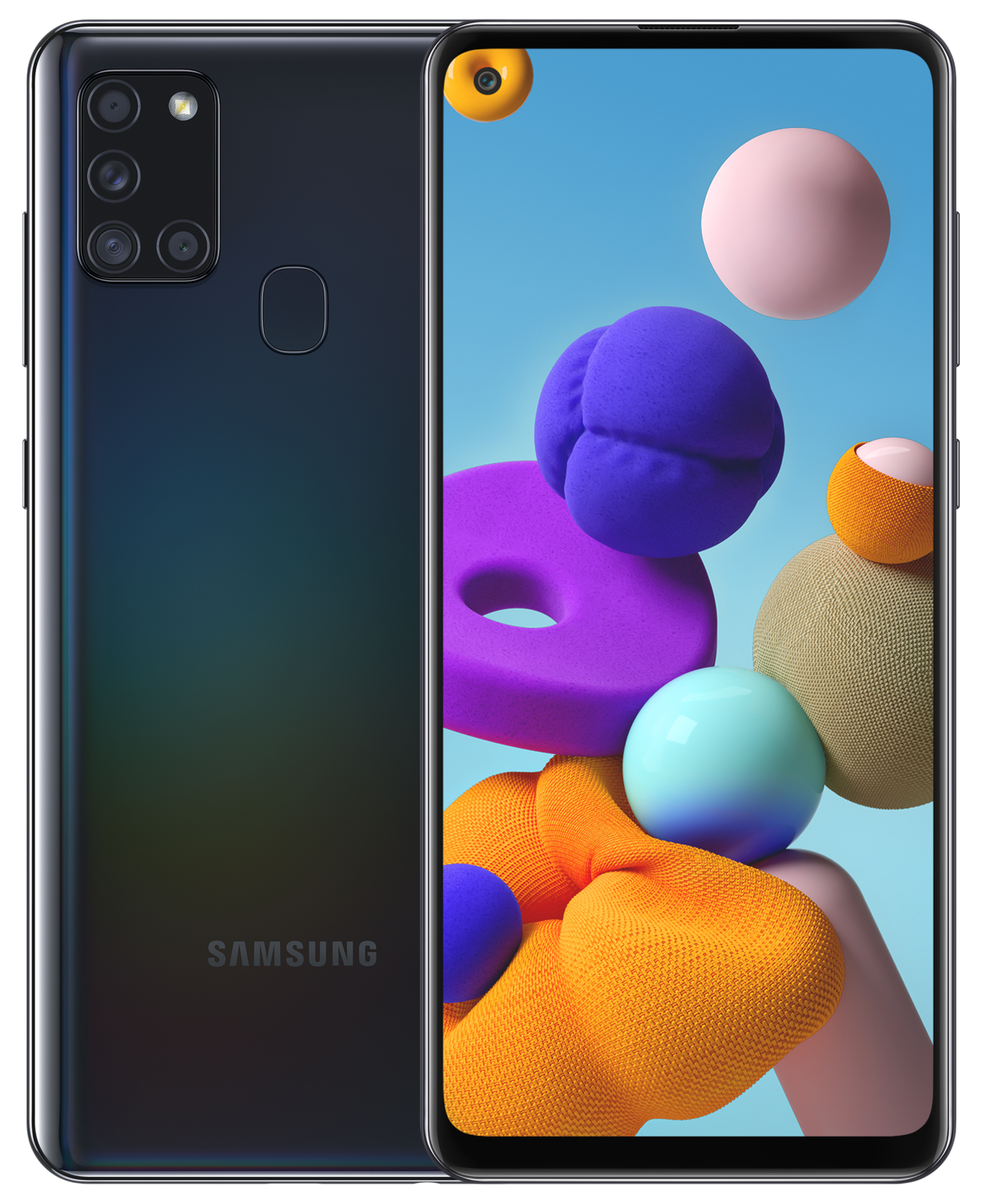 Android Phone - BRAND NEW Samsung Galaxy A21s 128GB Black Unlocked Android Smartphone - SM-A217F
