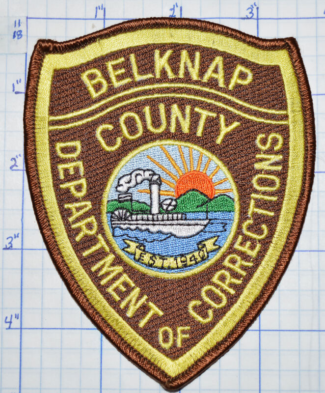 NEW HAMPSHIRE, BELKNAP COUNTY DEPT OF CORRECTIONS SHERIFF PATCH