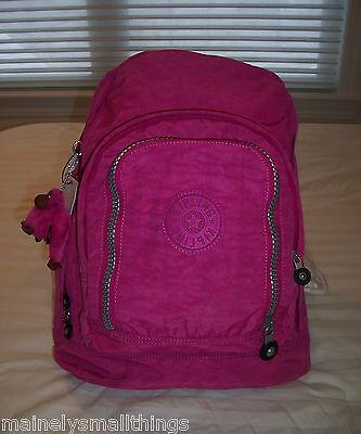 NWT Kipling HIKER Expandable Backpack VERY BERRY BP2128