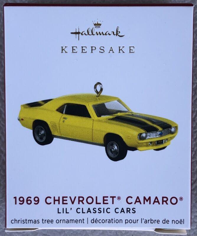 Hallmark 2020 1969 Chevrolet Camaro Classic Cars 3rd in Series Miniature New