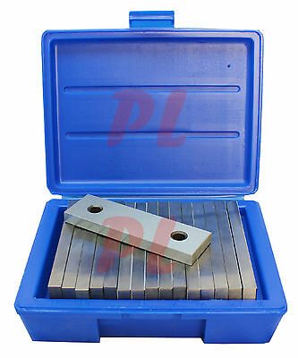 8 Pair 12 Steel Parallel Set 6 Long 0.0002 Square Precision 78in - 1-34