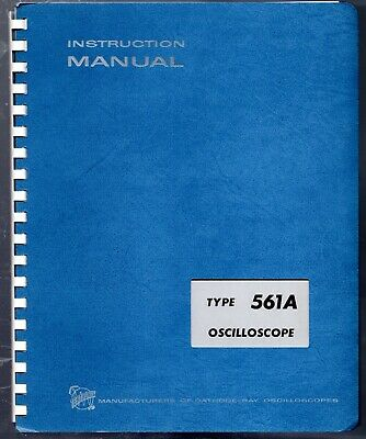 Original Tektronix Instruction Manual For The 561a Oscilloscope