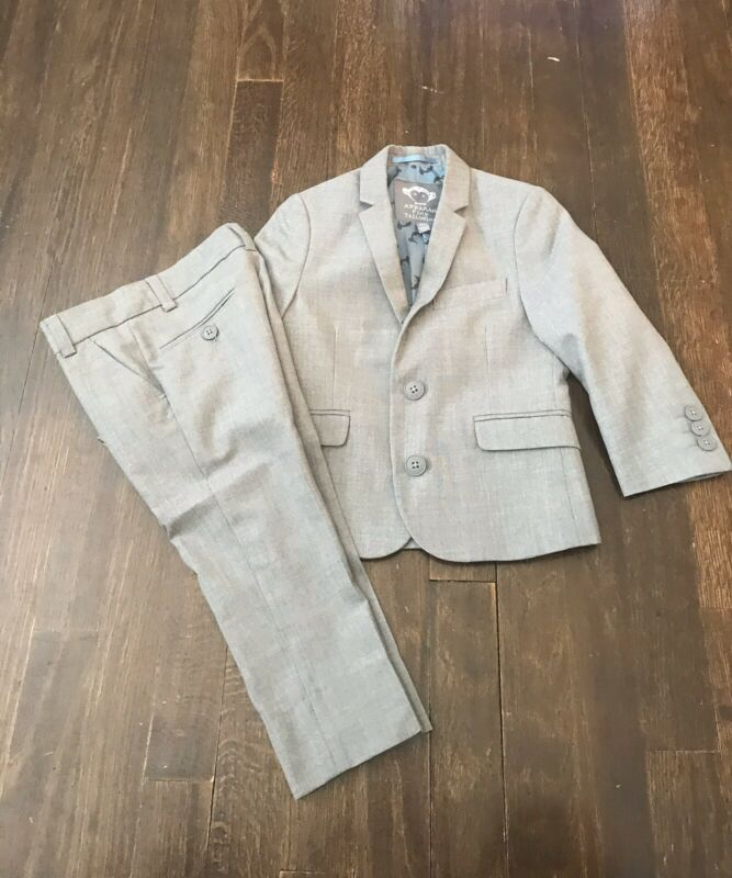 APPAMAN 2PC SUIT GRAY 3T