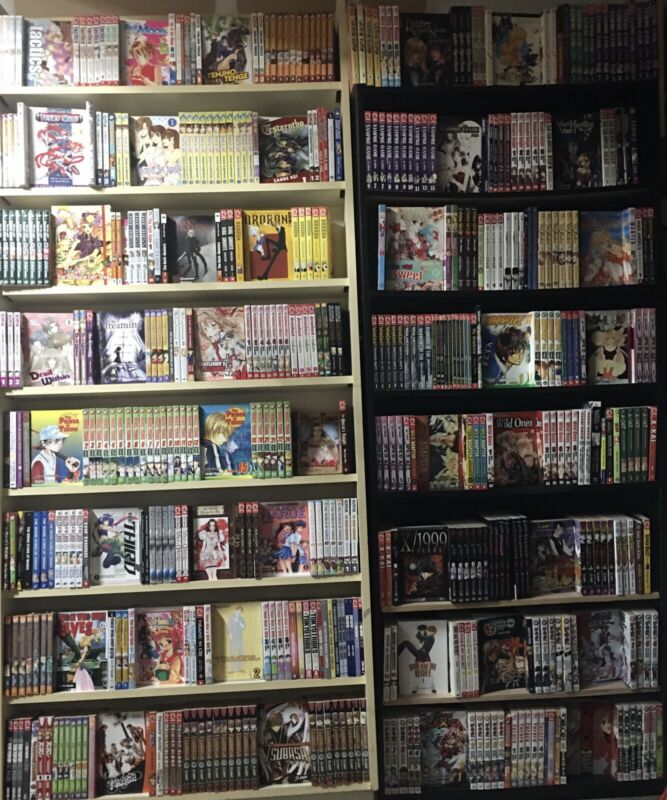 "Manga Lot ""T Thru Z"" ($5.99 Each) Read Description Oop Rare Graphic Novel"