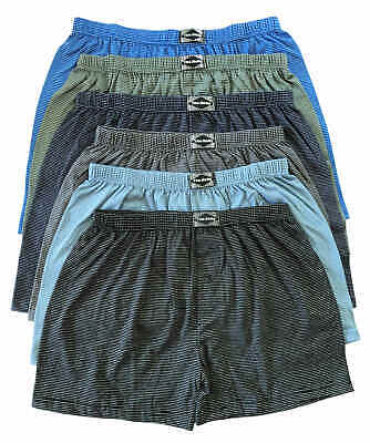 Xl Stück (3/6/9/12 Stück Herren Boxershorts Unterhosen Übergröße Gestreift Gr.5(S)-13(6XL))
