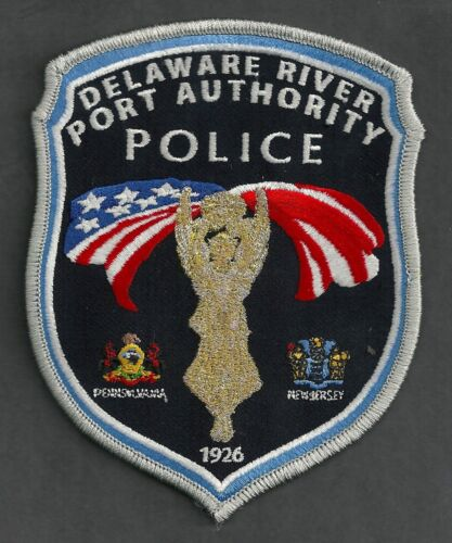 DELAWARE RIVER PORT AUTHORITY PENNSYLVANIA POLICE SHOULDER PATCH