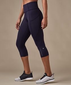 Lululemon fast and free crops size 6