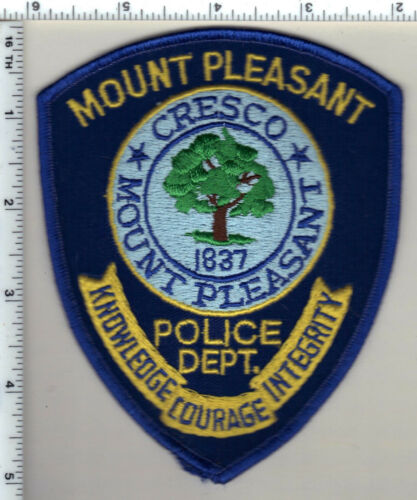 Mount Pleasant Police (South Carolina) Shoulder Patch new from 1992