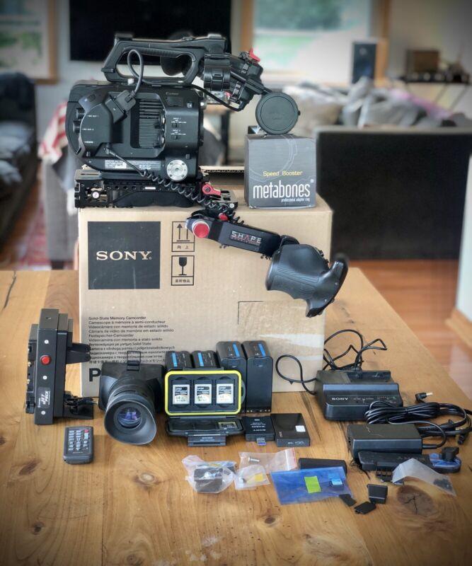 Sony Pxw-fs7 XDCAM Super 35 Camera System Bundle with Metabones Speedbooster.