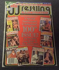 100th Issue of Pro wrestling illustrated magazine - DEC 1987