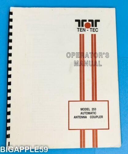 Ten-Tec Model 253 Automatic Antenna Coupler Original Owner