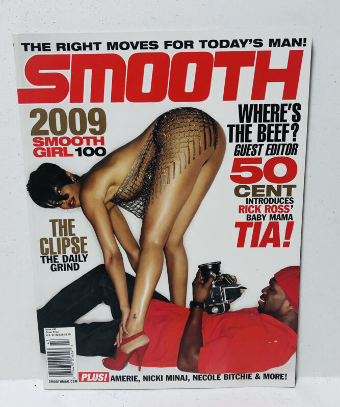 Smooth Magazine #43 2009 Smooth Girl 100 TIA 50 CENT Amerie Oct Nov 2009