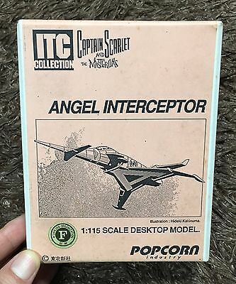 CAPTAIN SCARLET ANGEL INTERCEPTOR  GERRY ANDERSON THUNDERBIRDS UFO SPACE 1999 for sale  Shipping to United States