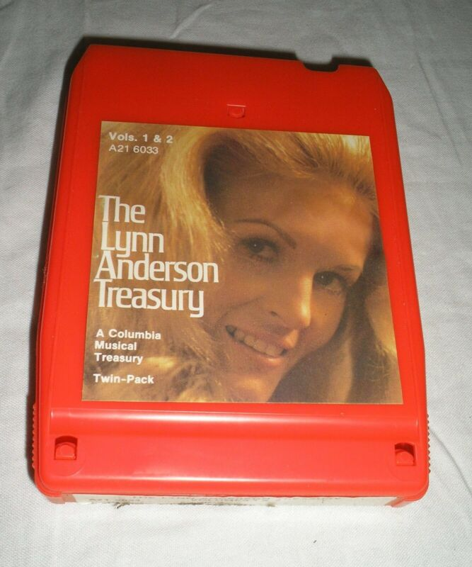 Lynn Anderson - The Lynn Anderson Treasury Volumes 1 & 2 - 8 Eight Track Tape