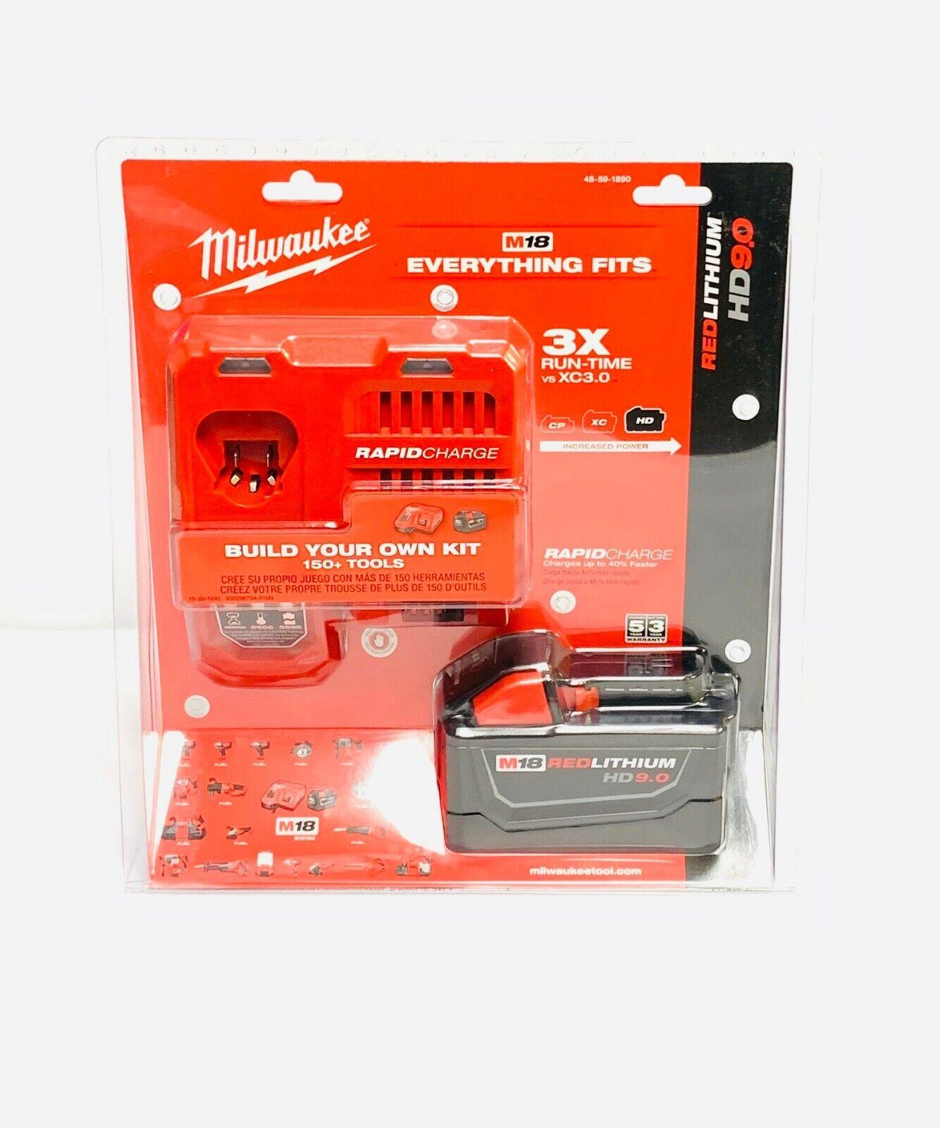 M18 Redlithium Battery Starter Kit Milwaukee Misc Power Tool