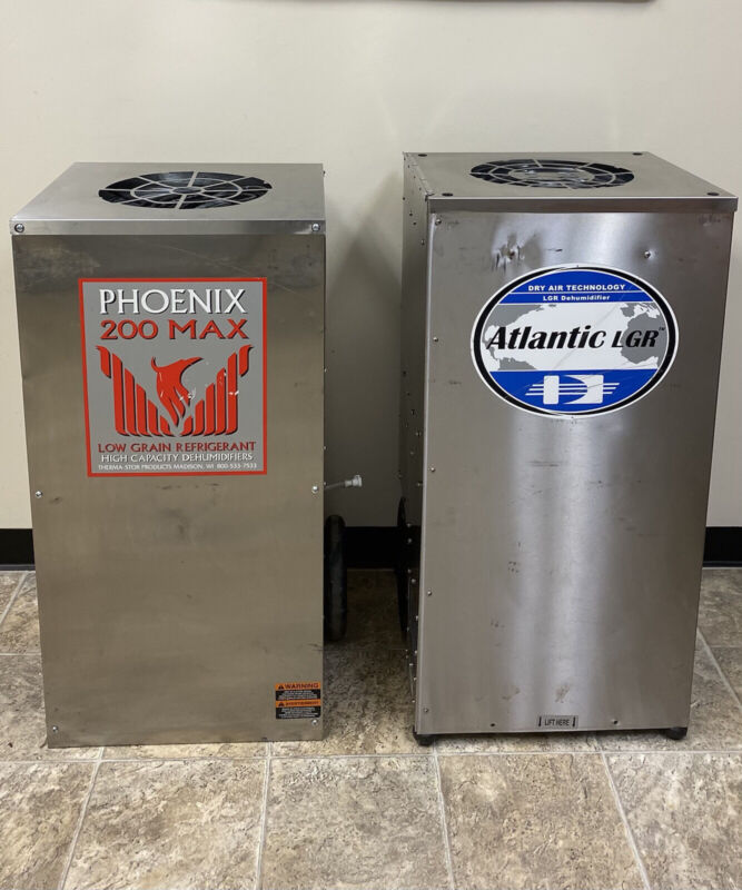 2 Commercial Dehumidifiers