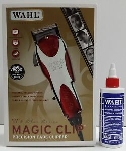 wahl professional magic clip precision fade clipper clipper oil 4oz set haircut. Black Bedroom Furniture Sets. Home Design Ideas