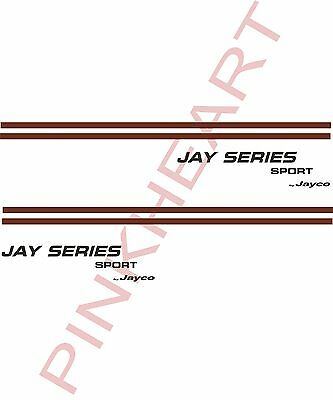 sport Pop up decal kits Rv camper decals graphics sticker jay series popup jayco