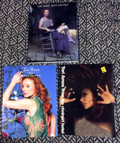 Gem THREE-PIECE TORI AMOS SONGBOOK BUNDLE LOT Boys for Pele Choirgirl Beekeeper