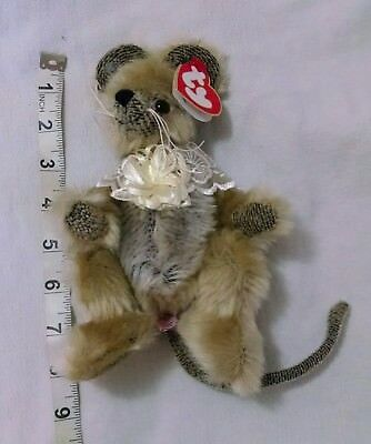 Ty Attic Treasures Minerva Mouse plush 8 in