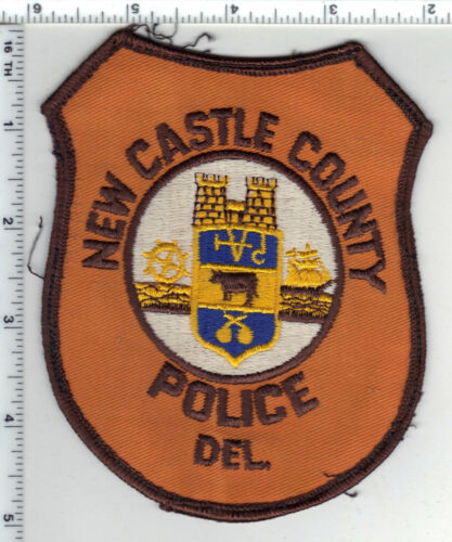 New Castle County Police (Delaware) 4th Issue Uniform Take-Off Shoulder Patch