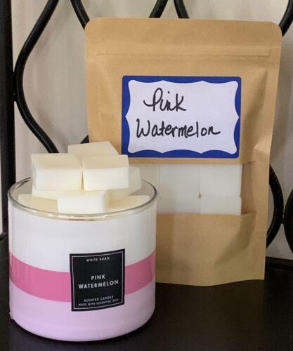 Bath & Body Works Pink Watermelon LARGER Size Cube  Wax Melt