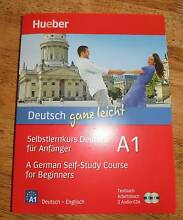 Learning German Textbook with Cds - bilingual ---- NEW Holloways Beach Cairns City Preview