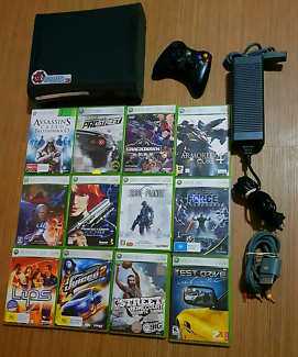 Xbox 360 lots of games.