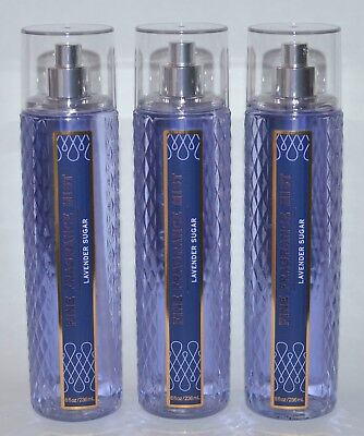 Lavendel Körper-spray (Menge 3 Bad & Körper Wirkt Lavendel Zucker fein Duft Nebel SPRAY groß 237 ml)