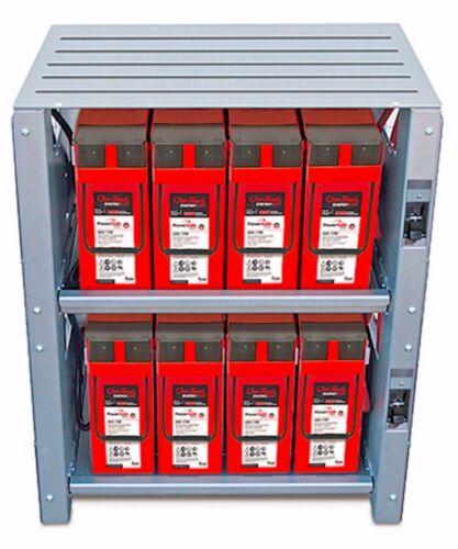 Outback Power, Battery Enclosures, 2 Shelf, 48 Volt Systems, IBR-2-48-175