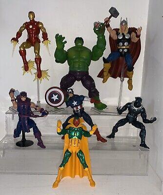 Marvel Legends Hulk Captain America Ironman Retro Vision Black Hawkeye Thor Lot