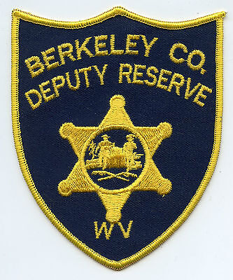 BERKELEY COUNTY WEST VIRGINIA WV DEPUTY RESERVE SHERIFF POLICE PATCH