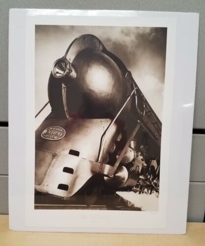 Hudson Steam Locomotive Print Train New York Central Railroad Industrial Design