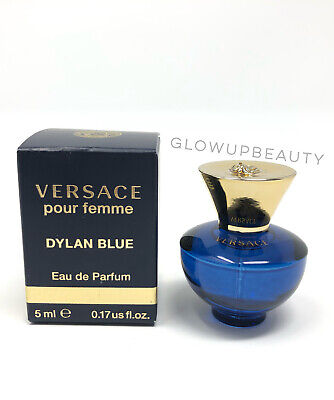 Versace Dylan Blue Pour Femme Women's Perfume .17oz/5ml Mini Travel New In Box