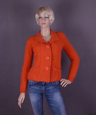 Angora Blazer Farbe: orange und Größe: S oder M (nach Wahl) ()