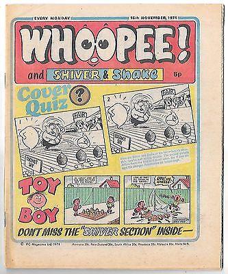 Whoopee! 16th Nov 1974 (very high grade) Frankie Stein, Scream Inn, Spy School