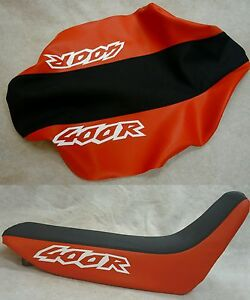 HONDA XR400r red with gripper SEAT COVER 1996 1997 1998 1999 2000
