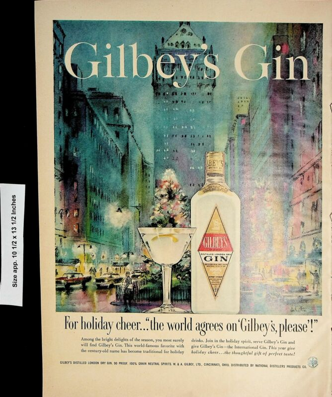 1958 Gilbey