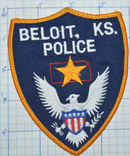 KANSAS, BELOIT POLICE DEPT PATCH