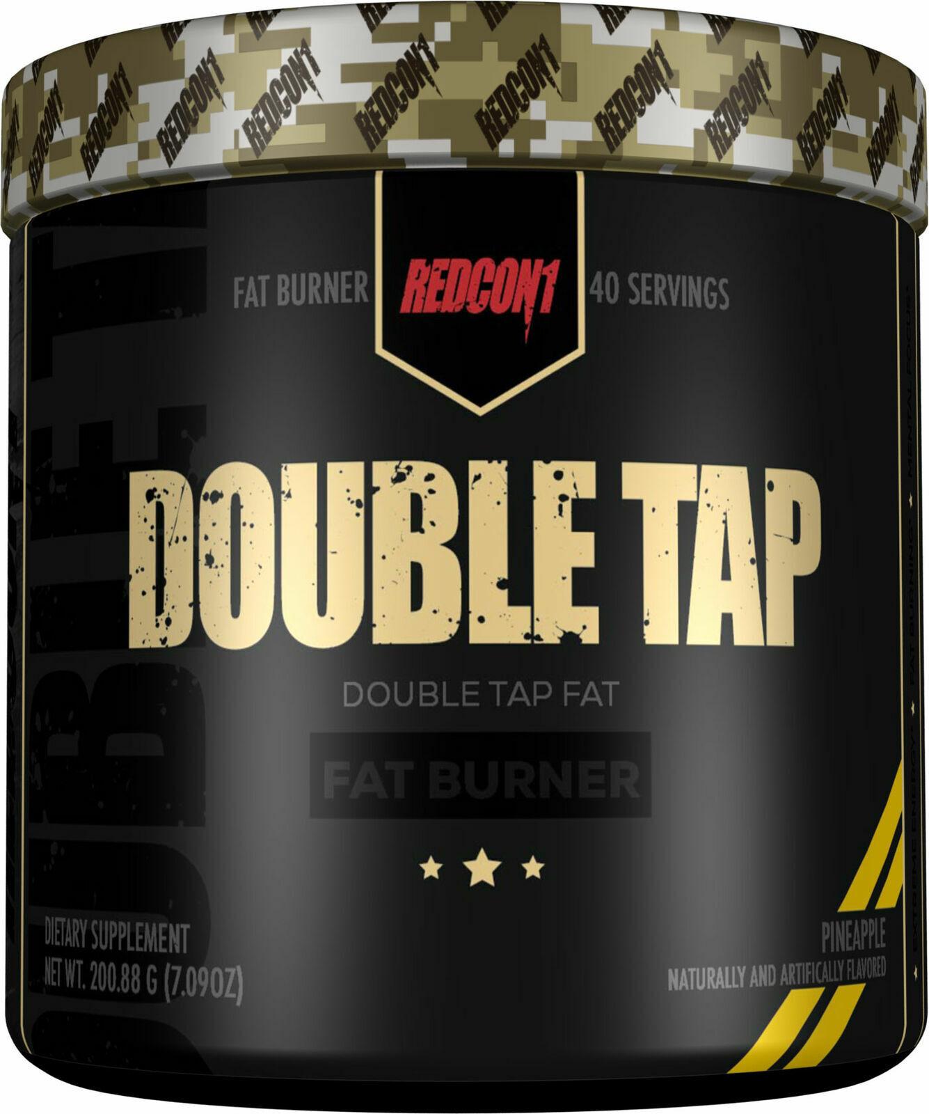 double tap fat burner powder 40 servings