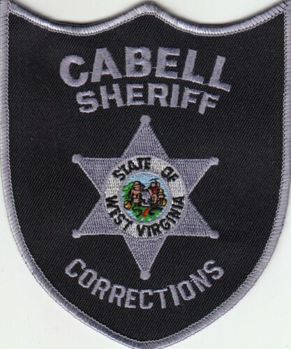 CABELL SHERIFF CORRECTIONS WEST VIRGINIA VA POLICE SHOULDER PATCH DOC COUNTY