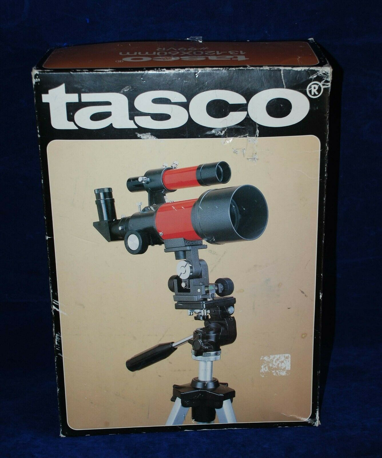 Vtg Tasco 9VR Portable Telephoto Camera Lens Astronomy Photography Telescope