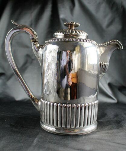 Georgian 18th c. STERLING Coffee Pot (1797, Sheffield, John & Thomas Settle)