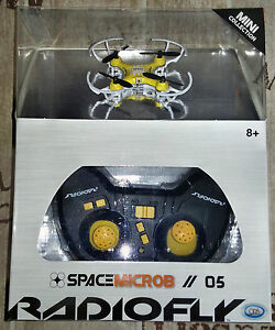 DRONE Radiofly Space Microb 05 drone 2,4 Ghz nuovo - Italia - DRONE Radiofly Space Microb 05 drone 2,4 Ghz nuovo - Italia